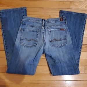 Seven 7 for all mankind,  WOMEN'S jeans,  size 26